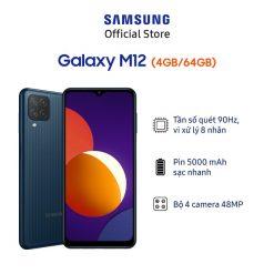 Điện Thoại Samsung Galaxy M12 (4GB/64GB) - Hãng Phân Phối Chính Thức