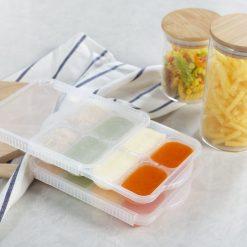 Khay trữ đông đồ ăn dặm Inochi Amori