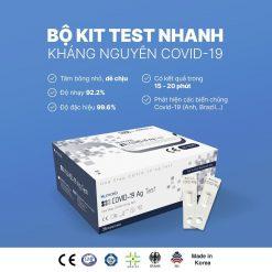 Kit Test Nhanh COVID 19 Cho 1 Người - Humasis