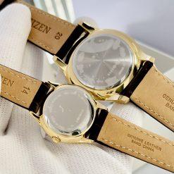Mẫu đồng hồ cặp đôi Citizen BD0043-08B và ER0203-00B