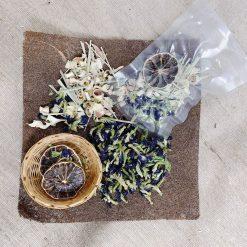 Trà Detox Chanh Sả Hoa Đậu Biếc - Bamboo