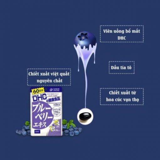 Viên Uống Bổ Mắt Việt Quất DHC