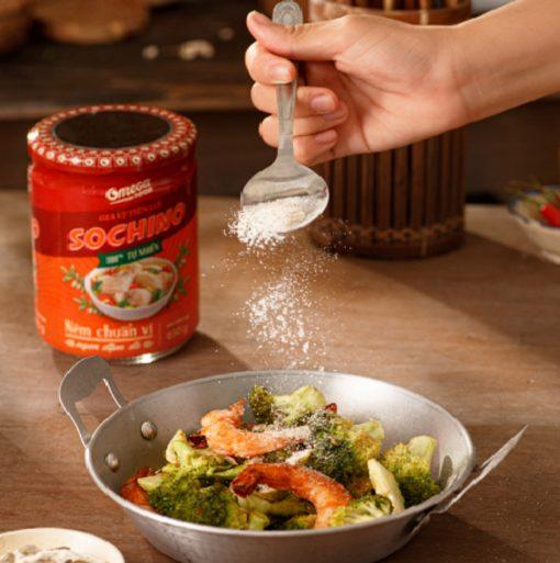 Gia Vị Tiện Lợi Sochino 650g - Omega Food