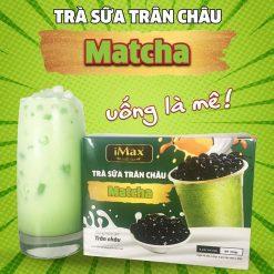 Trà sữa trân châu Matcha Imax